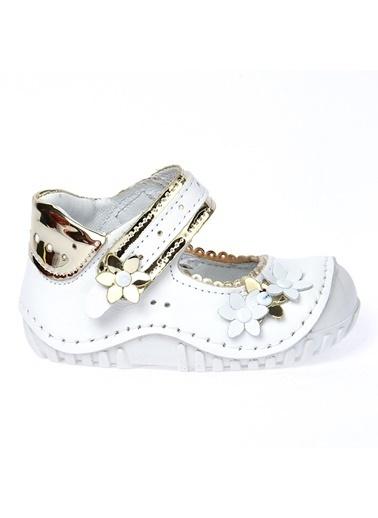 Kiko Kids Kiko Kids Teo 119 %100 Deri Orto pedik Cırtlı Kız Çocuk Ayakkabı Renkli